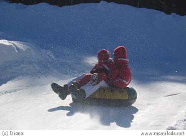 Snowtubing Götschen
