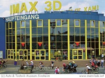 IMAX im Auto & Technikmuseum Sinsheim