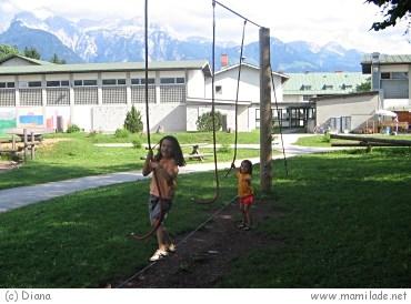 Spielplatz in Bischofswiesen