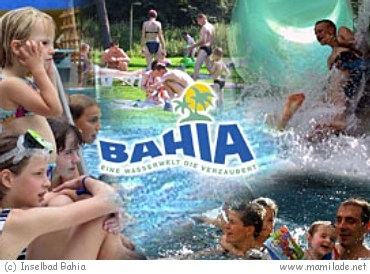 Wasserwelt im Bahia Inselbad