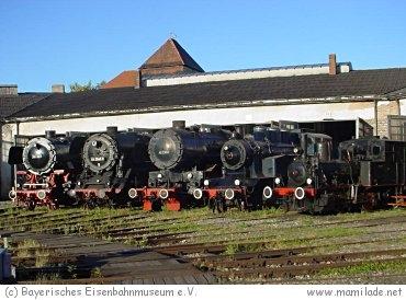 Bayerisches Eisenbahnmuseum Nördlingen