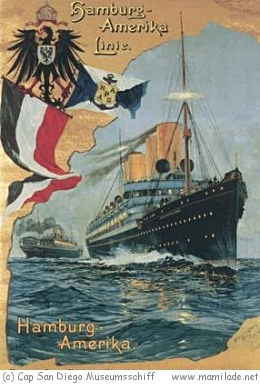 Cap San Diego Museumsschiff in Hamburg