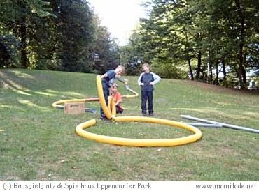 Bauspielplatz Eppendorfer Park in Hamburg