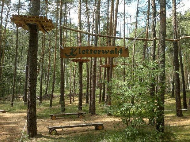 Kletterwald Schorfheide