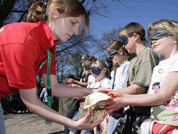 Mit allen Sinnen beim Kindergeburtstag im Tierpark Hagenbeck in Hamburg