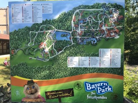Übersichtsplan des Bayernpark