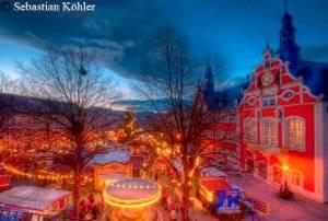 Weihnachtsmarkt in Arnstadt © Stadtmarketing Arnstadt GmbH - Fotograph: Sebastian Köhler