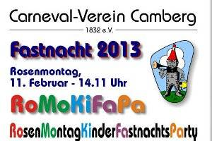 Kinderfastnachts-Party in Bad Camberg (c) Bad Camberg