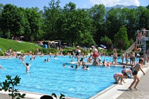 Freibad Marzoll, copyright: Diana