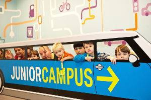JuniorCampus, Mobilität und Nachhaltigkeit, © SDTB / Foto: C. Kirchner