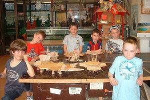 Kindergeburtstag in den Lern- und Erfinderwerkstätten in Berlin, © TJP e.V.