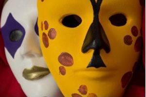 Masken basteln, © TJP e.V.