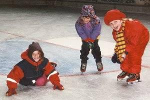 Eislaufkurs (c) Eissporthalle in Bitburg