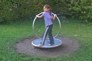Spielplatz im Leutewitzer Park Dresden (c) Adriana