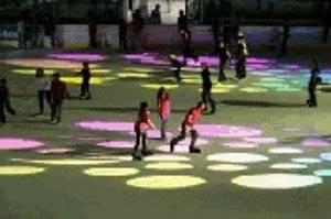 Eislaufen in der Freiberger Arena in Dresden (c) Stadt Dresden