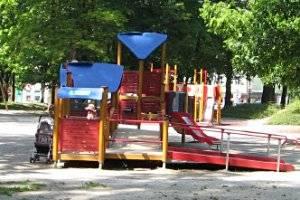 Spielplatz Karl-Marx-Siedlung Eilenburg (c) Adriana