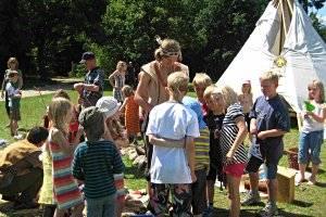Kindergeburtstag im Trappenkamp Erlebniswald (c) Stephan Mense