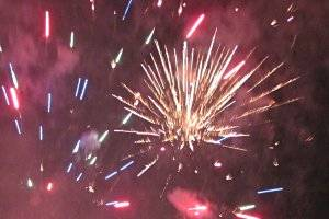Feuerwerk, © Antje Griehl