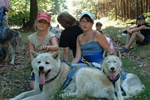 Freizeit mit Huskies, © Freizeit- und Tourismusservice Sabine Kühn, Husky-Hof Frankendorf
