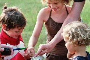 Kindergeburtstag im Wildgehege Glauer Tal, © LFV Nuthe-Nieplitz-Niederungen e.V.