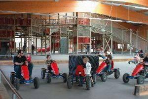 Go Karts im Bubenheimer Spieleland