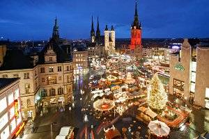 Weihnachtsmarkt (c) Stadt Halle an der Saale