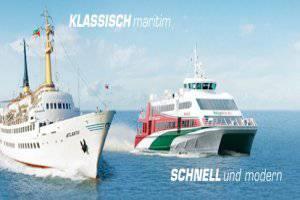 Per Schiff nach Helgoland (c) Helgoline.de
