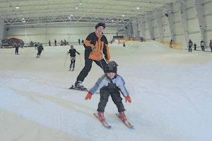 Skihalle Snowtropolis in Hörlitz, © snow+active GmbH