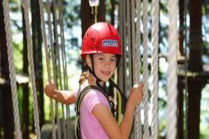 Spaß, Spannung und Abenteuer (c)Tiefblick Hochseilgarten Kletterwald Grüntensee