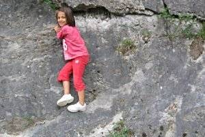 Kletterfelsen in Wippra (c) Adriana