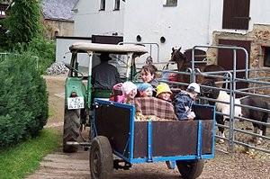 (c)  Lama- und Ponyhof Langenbernsdorf
