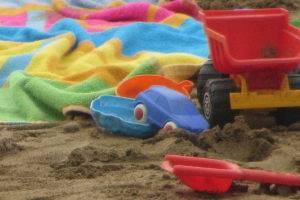 Spielzeug am Strand © Antje Griehl