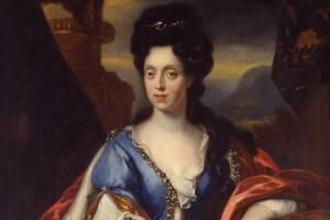 Kurfürstin Anna Maria Luia von der Pfalz geborene Medici © rem, Foto: Jean Christen