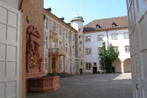 Blick durch das Osttor (c) Museum im Schloss Ettlingen