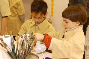 Die neuen Räume der Kinderkunstwerkstatt Baden-Baden (c) Stiftung Frieder Burda