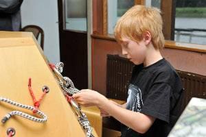 Kindergeburtstag auf dem Museumsschiff (c) TECHNOSEUM