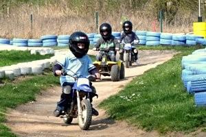 Minimotorrad fahren © Kindermotorland
