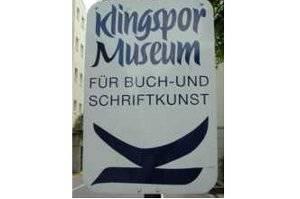 Das Klingspor-Museum (c) Klingspor-Museum in Offenbach
