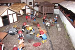 Die Welt der Kelten aus Playmobil (c) Archäologisches Landesmuseum Konstanz