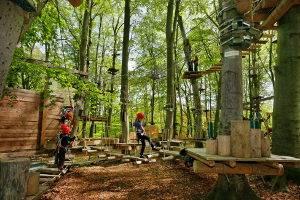 © AbenteuerPark Potsdam - Kletterwald, Kinderevents, Schulklassenprogramme und Geburtstage für alle Kids