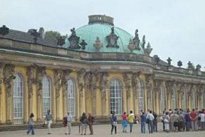 Schloss Sanssouci in Potsdam, © Antje Griehl