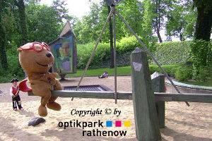 Maskottchen © Optikpark Rathenow