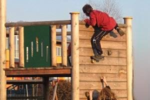 Spielplatz im Schlosspark (c) Diana