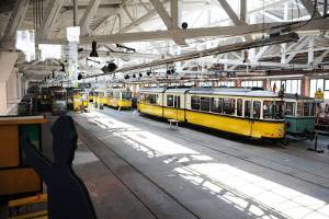 Historische Straßenbahnen (c) Straßenbahnwelt Stuttgart