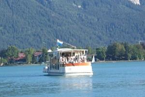 Schifffahrt am Tegernsee, copyright: Diana