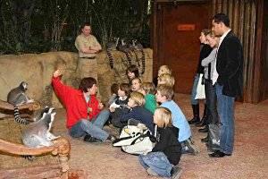 Kindergeburtstag im Tierpark Hagenbeck © Uwe Dillenberg