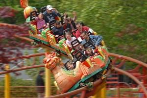 Drachenachterbahn (c) Tolk-Schau Familien-Freizeitpark