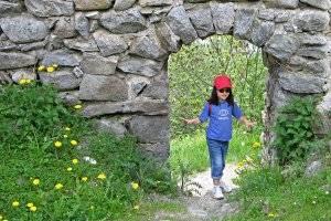 Wanderung zur Falkenburg in Wilgartswiesen (c) Adriana