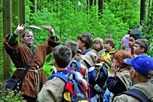 Kindergeburtstag (c) Wildpark Schwarze Berge