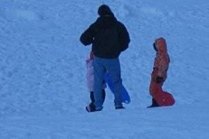 "Wintersport  im Skigebiet ""Am Inselsberg"" (c) Adriana"